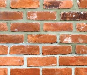 Repaired Brick Chimney