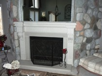 Stone Fireplace Repair