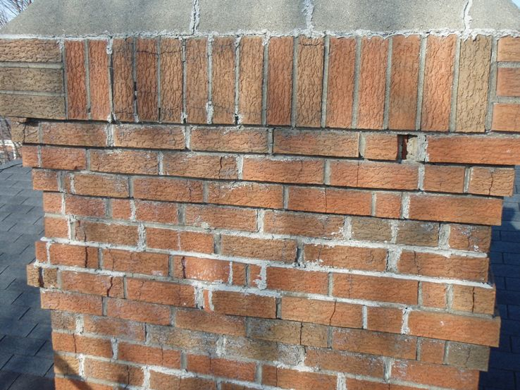 Before And After Photos Armstrong Masonry Repair In