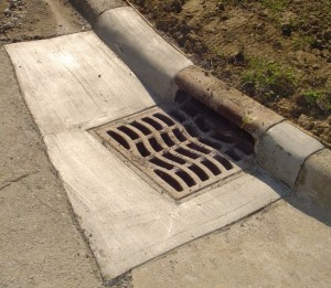 Concrete Gutter Repair from Armstrong Masonry Repair