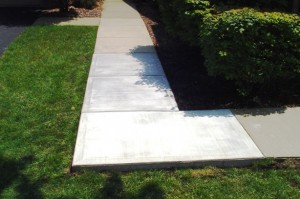 Concrete Sidewalk Repair from Armstrong Masonry Repair